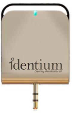 IDentium RFID UHF Audio Jack Reader