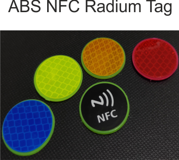 ABS Radium NFC Tag