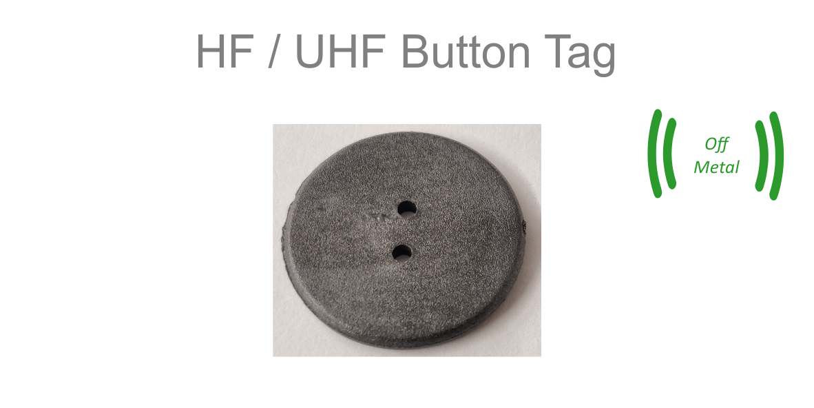 UHF Button Tag