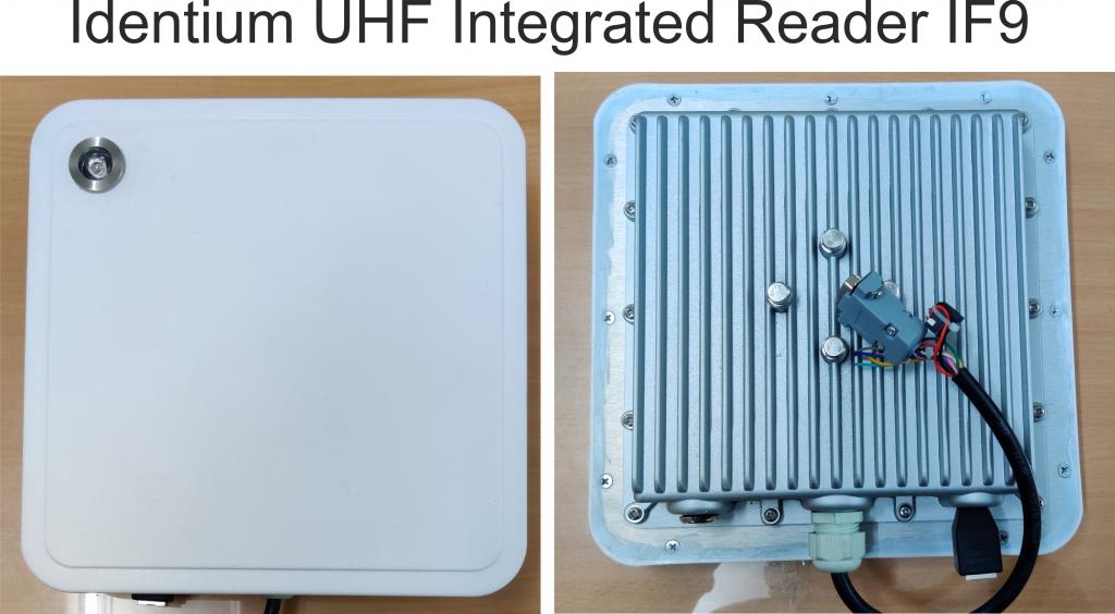 9dBi Techsolutions Integrated UHF RFID Antenna